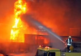 """معاريف: إندلاع حريق في مصنع """"شنيف"""" في منطقة أوفاكيم الصناعية"""
