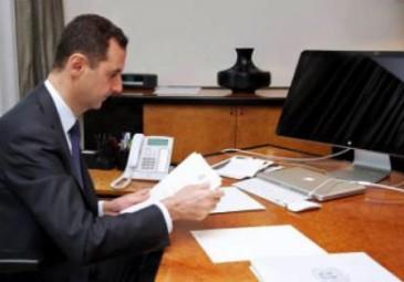 """بالفيديو :  الأسد يفتح النار على أردوغان مجددا ويتحدث عن """"أمر خطير"""""""